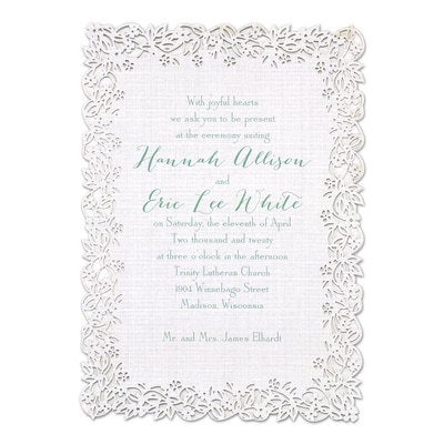 Linen Love - Invitation