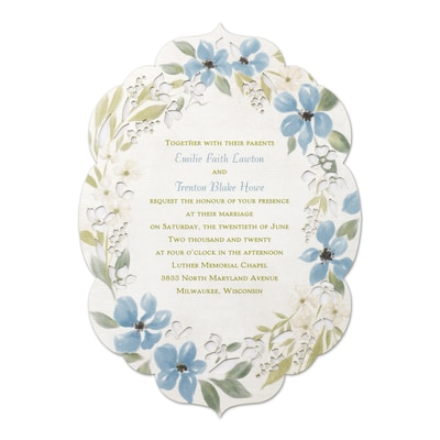 Captivating Flowers - Invitation