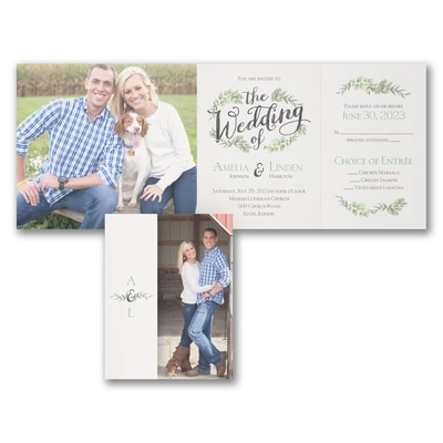Cherished Moments - All 'n One Invitation