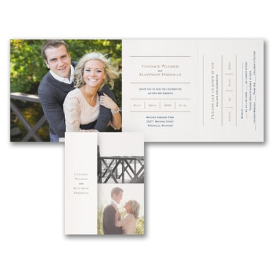 Picture Perfect Love - All 'n One Invitation