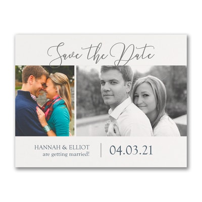Getting Married - Photo Save The Date Postcard
