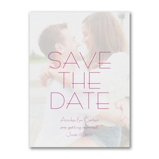 Contemporary Day - Save The Date