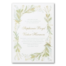 Floral Love - Invitation