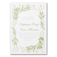 Floral Love - Wedding Invitation