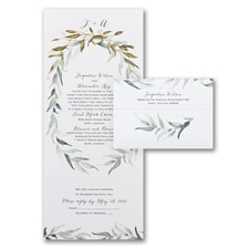 With RSVP Cards: Natural Union