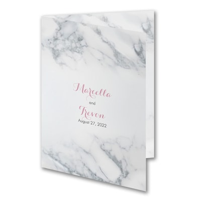 Fanciful Marble - Invitation
