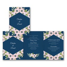 Floral Dreams - Invitation