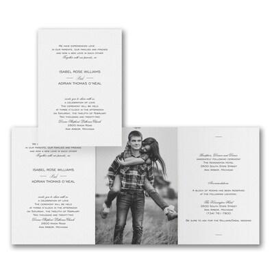Our Romance - Invitation