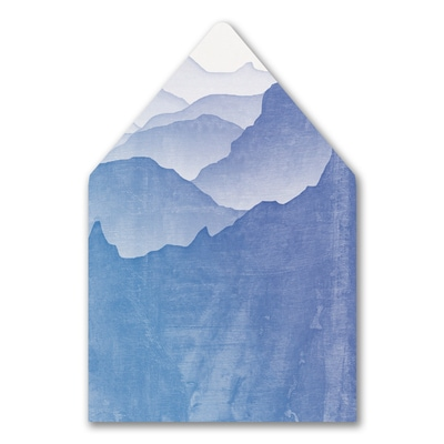 Picturesque Mountains Liner