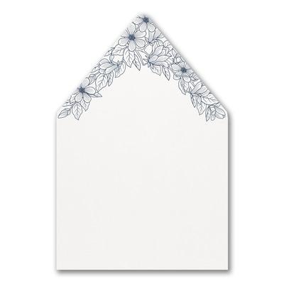 Lush Floral - Envelope Liner