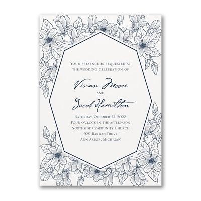 Lush Floral - Invitation