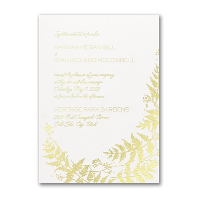 Charming Vines - Invitation