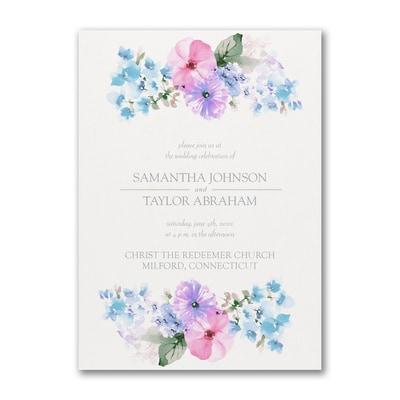 Pastel Floral - Invitation