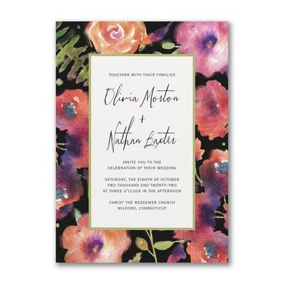 Magical Blooms - Invitation