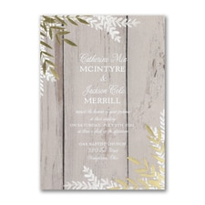 rustic invitation: Rustic Beauty