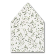 Charming Greenery - Envelope Liner