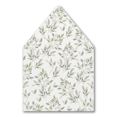 Charming Greenery - Envelope Liner