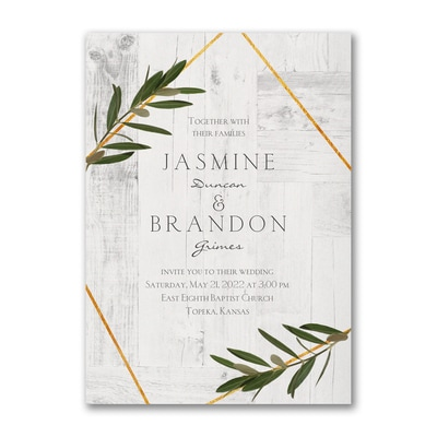 Rustic Dreams - Invitation