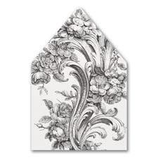 Vintage Floral - Envelope Liner