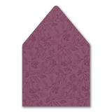 Flower-Patterned Romance - Envelope Liner