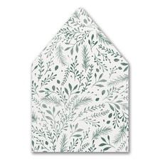 Botanical Greenery - Envelope Liner
