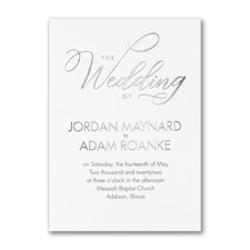 Wedding Wonder - Invitation