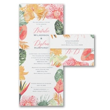 With RSVP Cards: Tropical Menagerie
