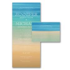 Beach Beauty - Seal 'n Send Invitation