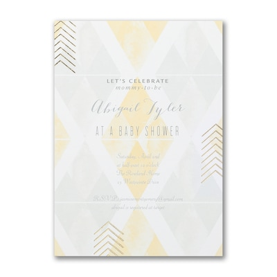 Bright Celebration - Baby Shower Invitation