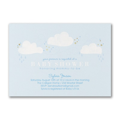 Twinkle Party - Baby Shower Invitation