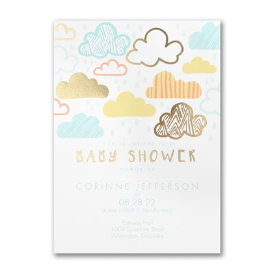 Happy Shower - Baby Shower Invitation