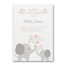 Baby Bundle - Baby Shower Invitation