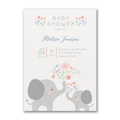 Baby Bundle - Baby Shower Invitation