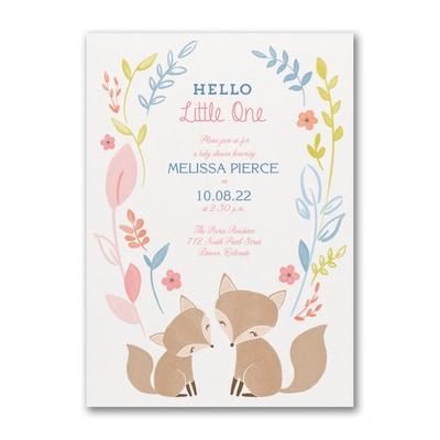 Hello Little One - Baby Shower Invitation