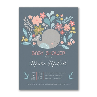 Joyous Celebration - Baby Shower Invitation