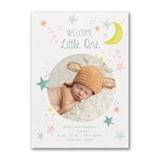 Little One - Photo Birth Announcement