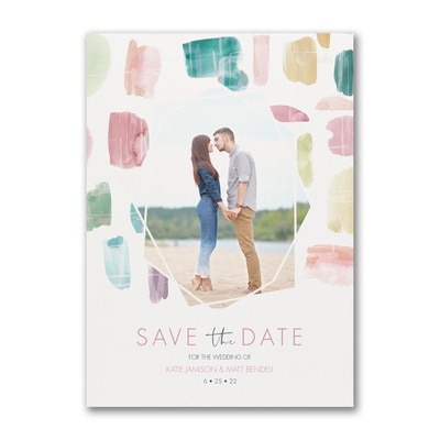 Colorful Date - Save the Date