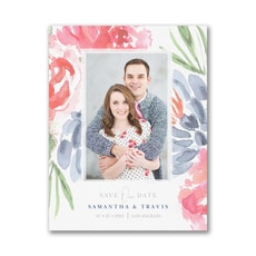 Colorful Botanicals - Save The Date