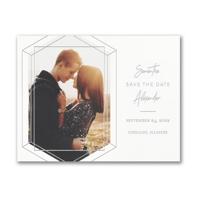 Emerald Engagement - Save the Date - Small