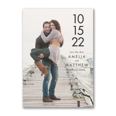Simple Date - Save the Date
