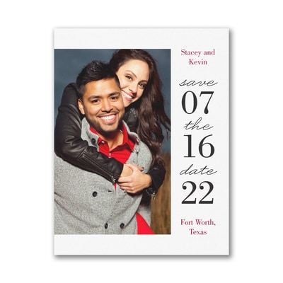 Modern Day - Save the Date - Small