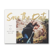 Gleaming Date - Save the Date - Small