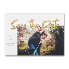 Gleaming Date - Save the Date
