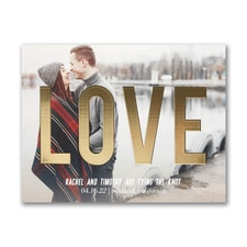 Gleaming Love - Save the Date - Small