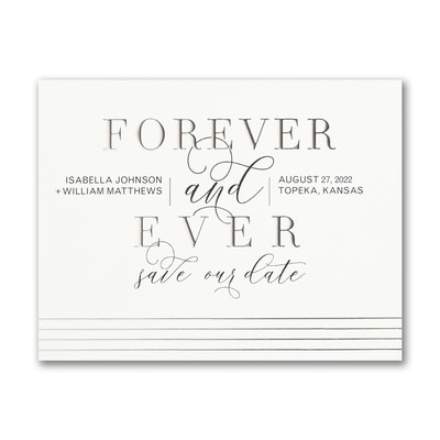 Forever Our Date - Save the Date - Small