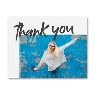 Much Appreciation - Photo Thank You Postcard