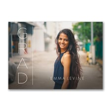 Simple Grad - Graduation Invitation