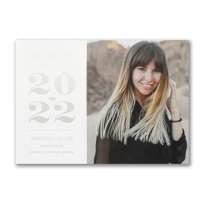 Grand Year - Graduation Announcement