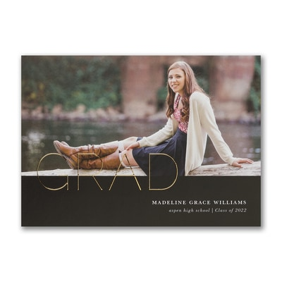 Grand Grad - Graduation Announcement
