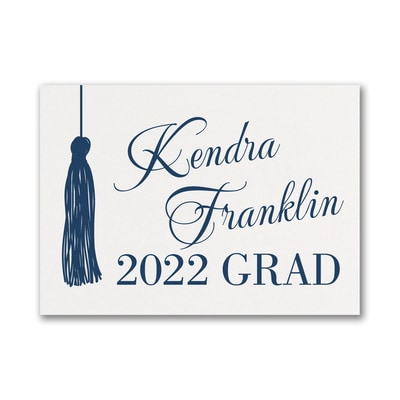 Graduation Tassel - Graduation Advice Card